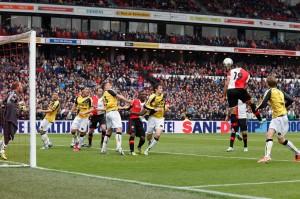 Feyenoord-NAC 1-0 foto: Peter Visser