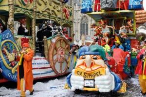 Carnavals optocht 2010